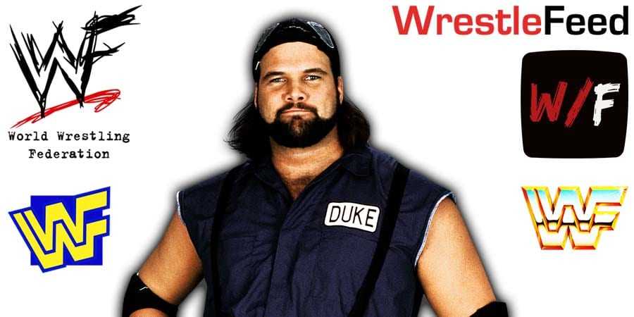 Duke The Dumpster Droese WWF Article Pic 1 WrestleFeed App