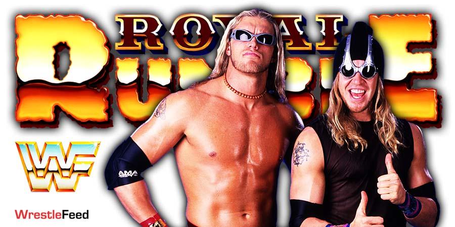 Edge & Christian Reunite WWE Royal Rumble 2021 WrestleFeed App