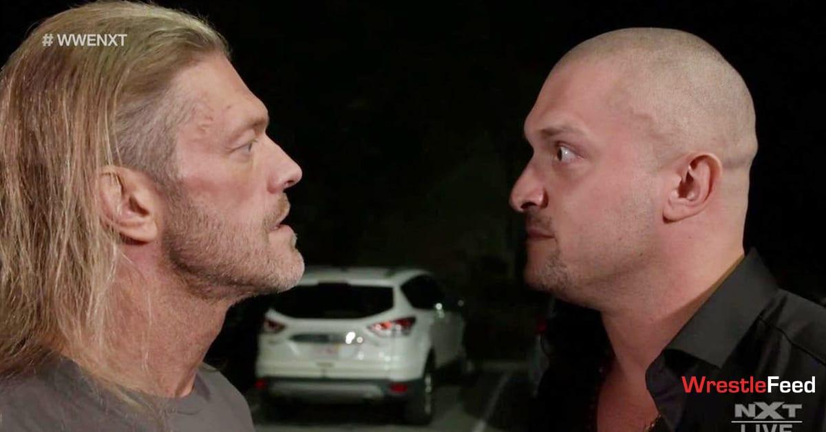 Edge Karrion Kross NXT WrestleFeed App