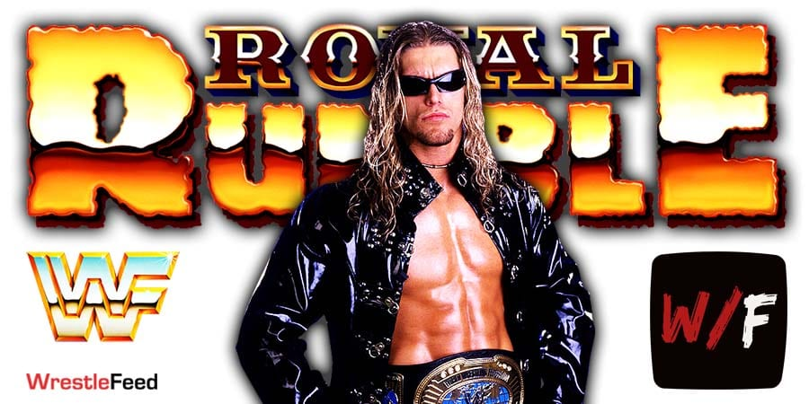 Edge Pitched His Royal Rumble 2021 Win To Vince McMahon WrestleFeed App