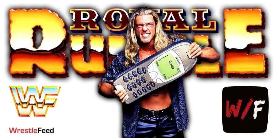 Edge Royal Rumble Winner Men's 2021 WrestleFeed App