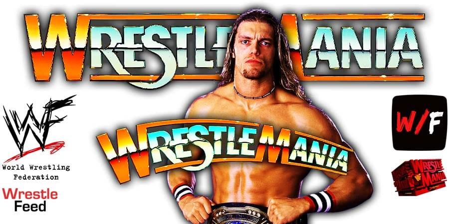 Edge WrestleMania 37 WrestleFeed App
