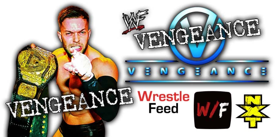 Finn Balor Wins At NXT TakeOver Vengeance Day WrestleFeed App)