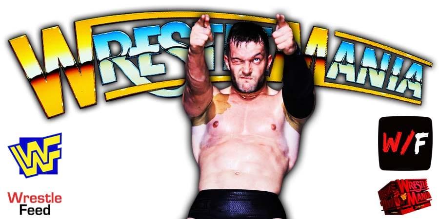 Finn Balor WrestleMania 37 WrestleFeed App