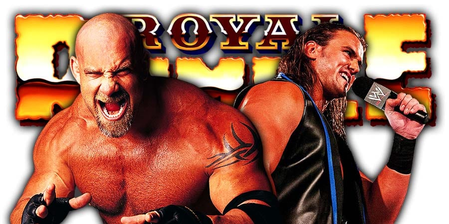 Goldberg defeated by Drew McIntyre at Royal Rumble 2021