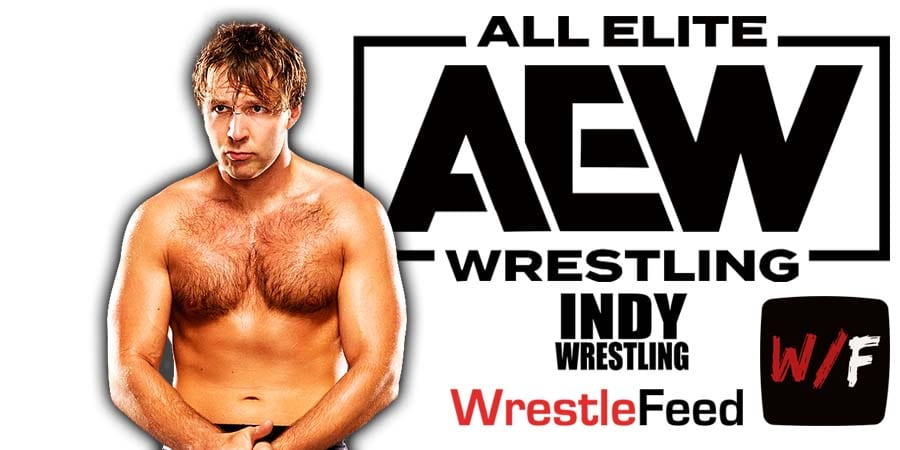 Jon Moxley Dean Ambrose AEW Article Pic 1 WrestleFeed App