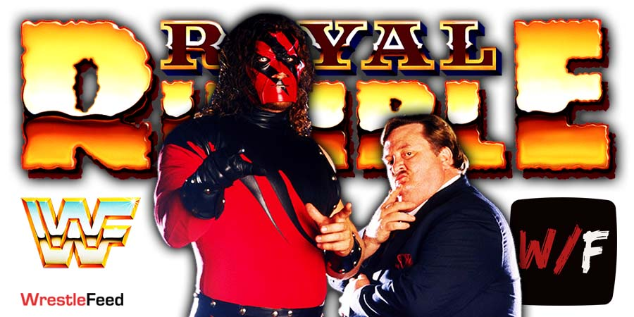 Kane Royal Rumble 2021 18th Appearance WrestleFeed App