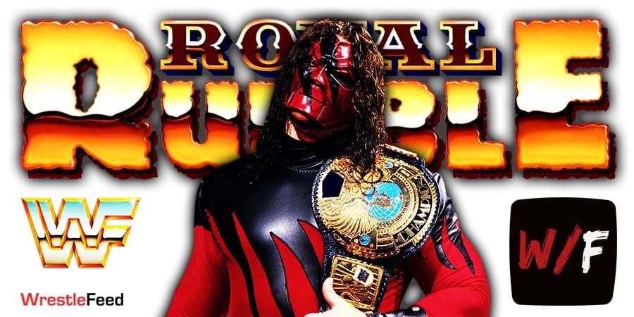 Kane Royal Rumble 2021 WrestleFeed App