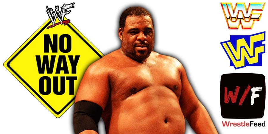Keith Lee Pulled From Elimination Chamber 2021 No Way Out WrestleFeed App