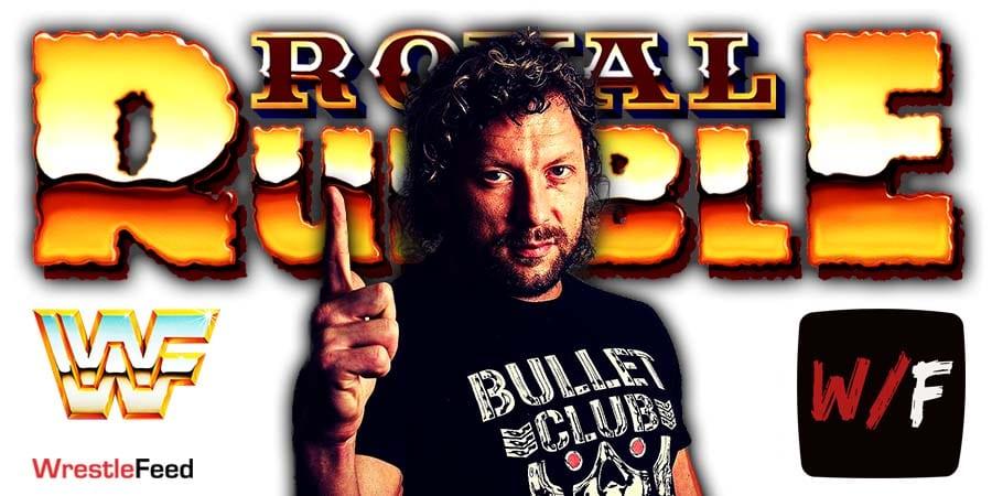 Kenny Omega Royal Rumble 2021 WrestleFeed App
