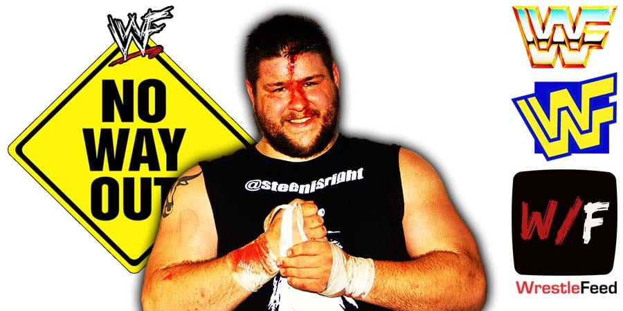 Kevin Owens Elimination Chamber 2021 No Way Out WrestleFeed App