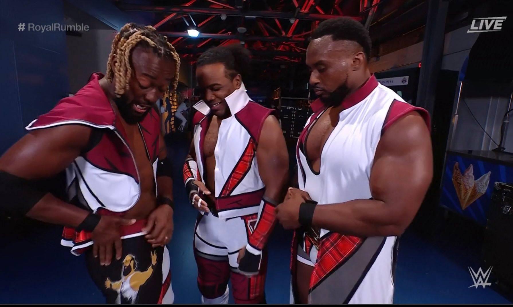 Kofi Kingston Pays Tribute To Jon Huber Luke Harper Brodie Lee At WWE Royal Rumble 2021