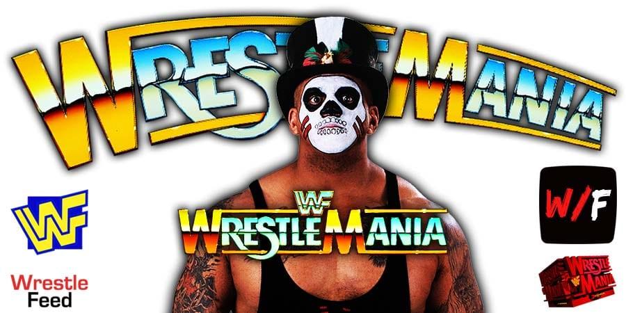 Papa Shango - Kama - Godfather - Goodfather WWF WrestleMania 8 WrestleFeed App