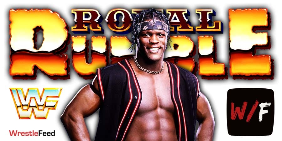 R-Truth Royal Rumble 2021 WrestleFeed App