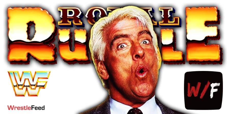 Ric Flair Royal Rumble 2021 WrestleFeed App
