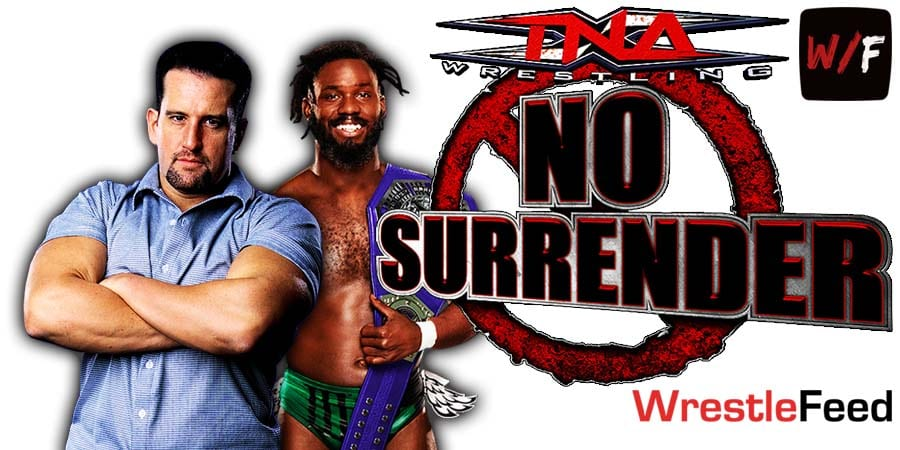 Rich Swann defeats Tommy Dreamer at Impact Wrestling No Surrender 2021 WrestleFeed App
