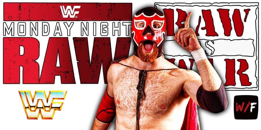 Sami Zayn RAW Article Pic 1 WrestleFeed App