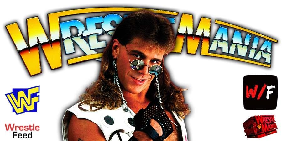 Shawn Michaels WrestleMania 21 WrestleFeed App