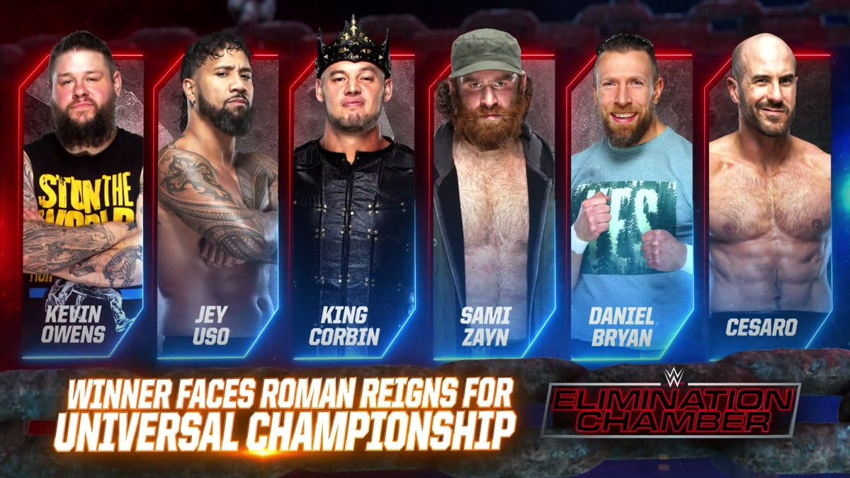 SmackDown Elimination Chamber Match 2021