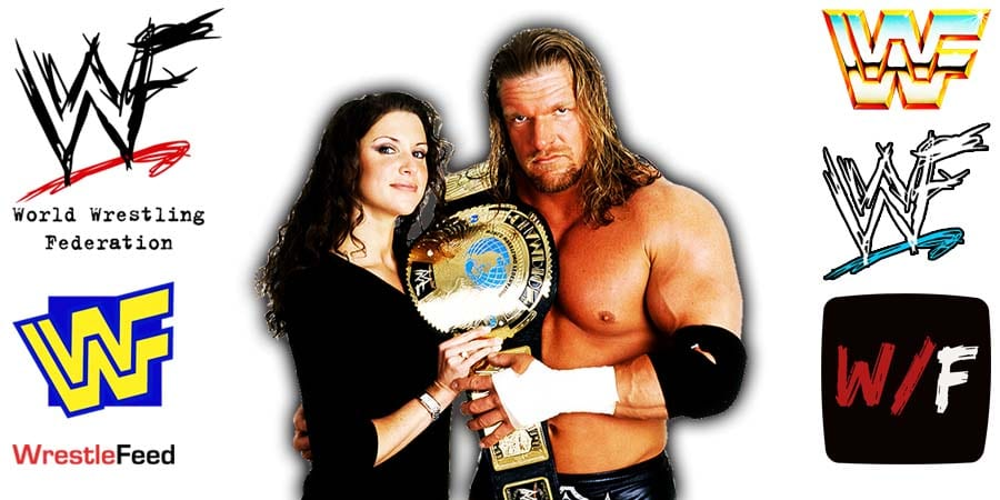 Stephanie McMahon with Triple H Article Pic 4 WrestleFeed App