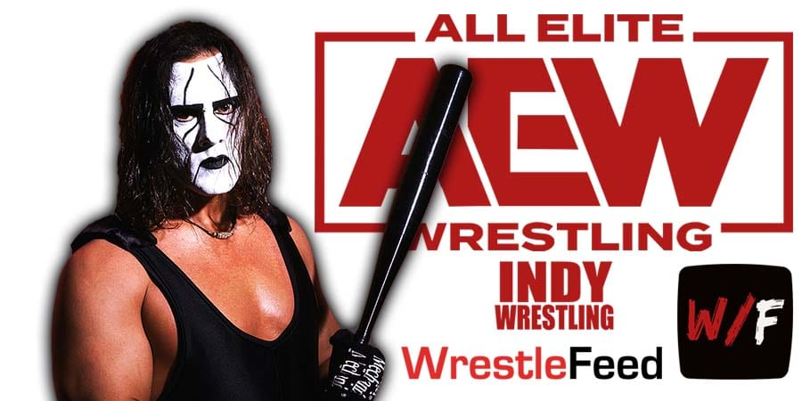 Sting AEW All Elite Wrestling Article Pic 13 WrestleFeed App