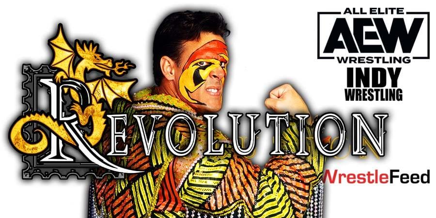 Sting AEW Revolution 2021 PPV WrestleFeed App