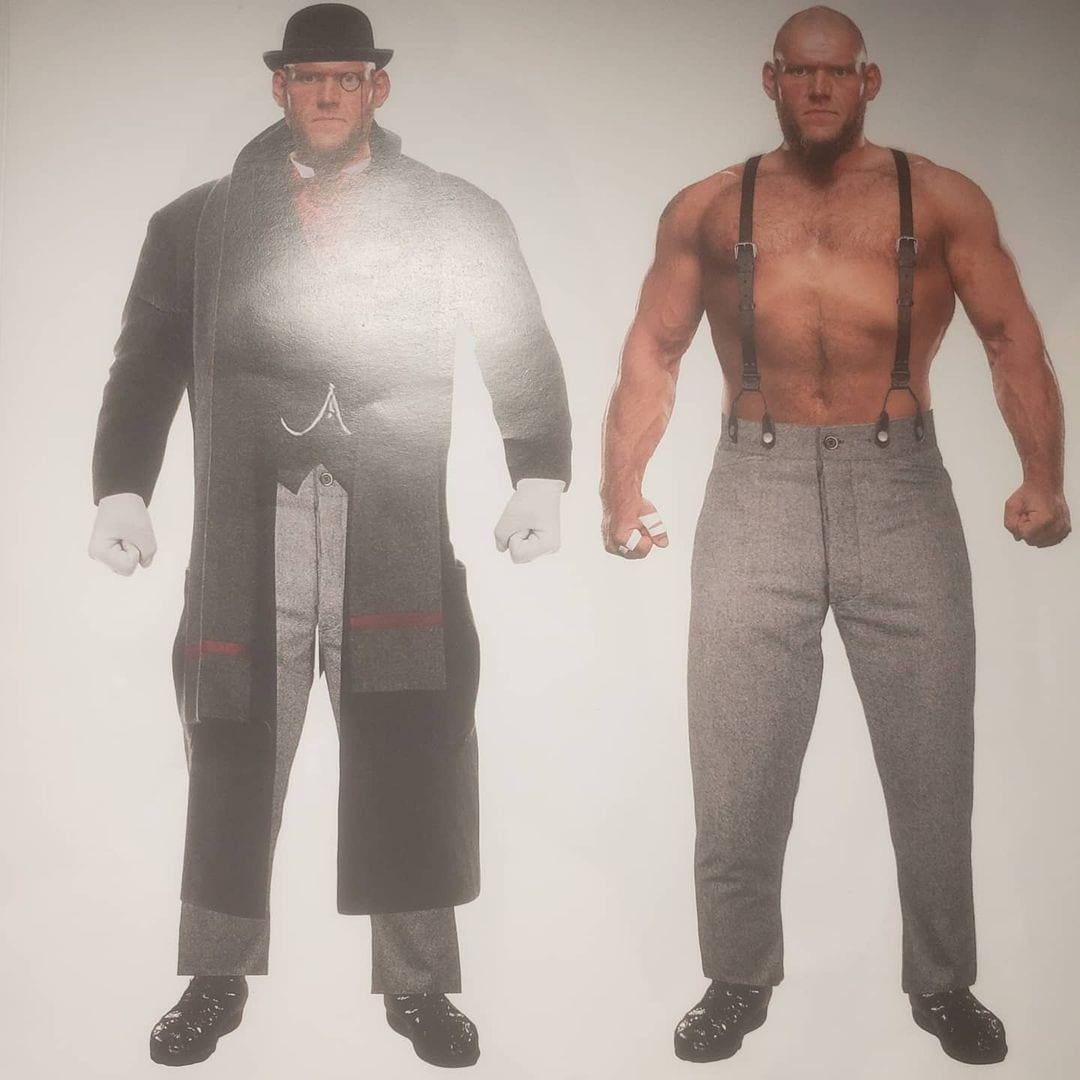 The Brilliant Behemoth Lawrence Sulivan - Lars Sullivan New WWE Character Before Release In 2021