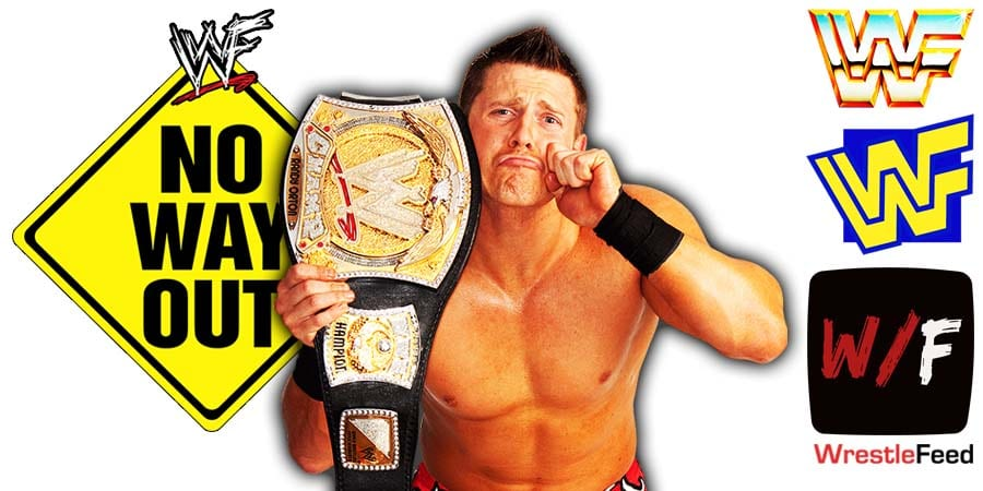 The Miz WWE Champion Elimination Chamber 2021 No Way Out WrestleFeed App