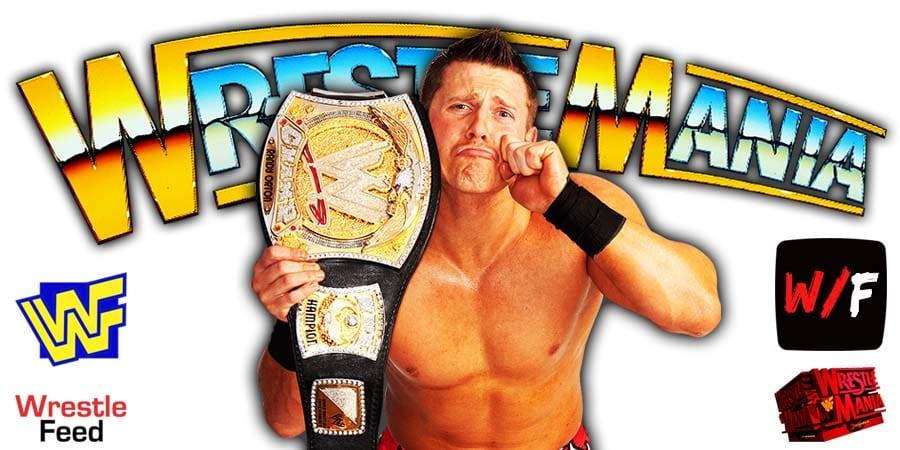 The Miz WWE Champion WrestleMania 37 WrestleFeed App