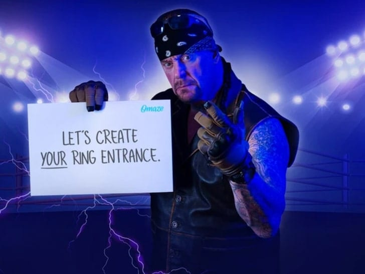 The Undertaker Let's Create Your Ring Entrance Omaze