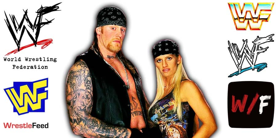 The Undertaker with his ex-wife Sara WWF Article Pic 23 WrestleFeed App