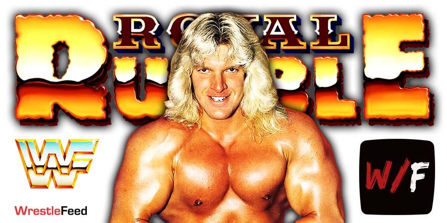 Triple H Royal Rumble 2021 WrestleFeed App