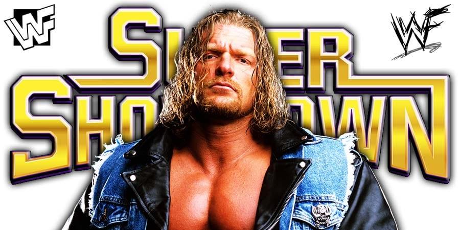 Triple H WWE Super ShowDown