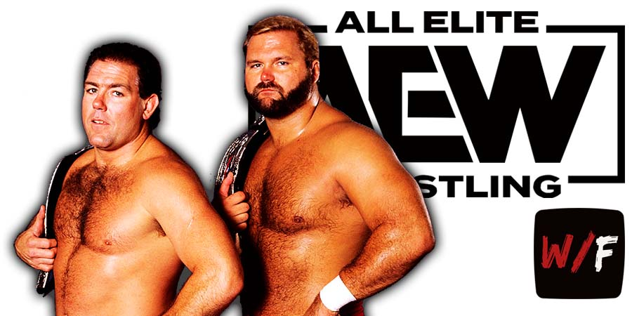 Tully Blanchard & Arn Anderson - Brain Busters AEW Article Pic 1 WrestleFeed App