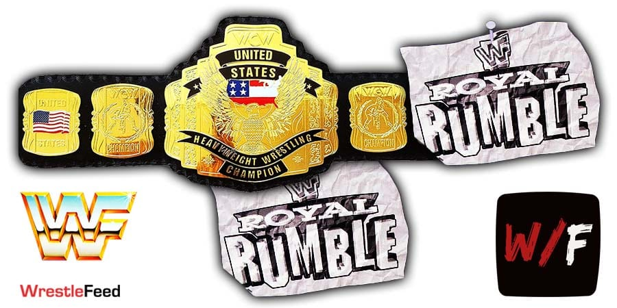 United States Championship Match - US Title Royal Rumble WrestleFeed App