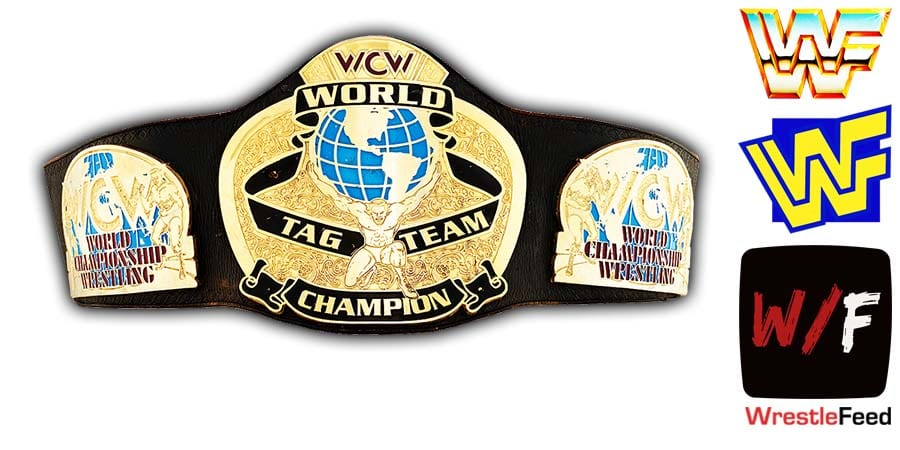 WCW Tag Team Championship Title Belt Article Pic 1 WrestleFeed App