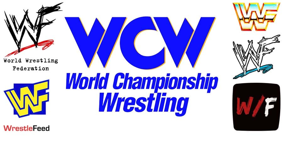 WCW World Championship Wrestling Logo Article Pic 1 WrestleFeed App