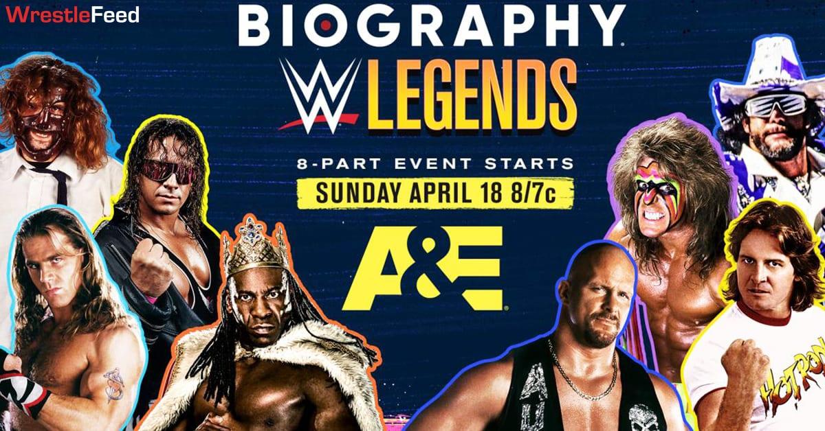 WWE Legends Biography A&E Network WrestleFeed App