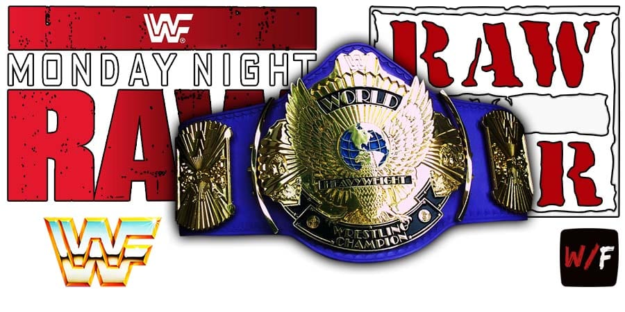 WWF Title RAW Article Pic