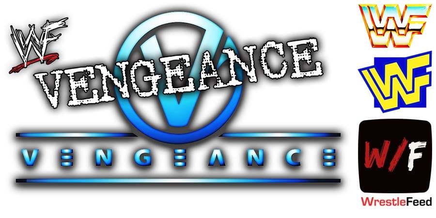 WWF WWE Vengeance Logo WrestleFeed App
