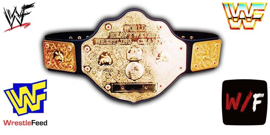 World Heavyweight Championship - Title Belt - WCW NWA WWE Article Pic 1 WrestleFeed App