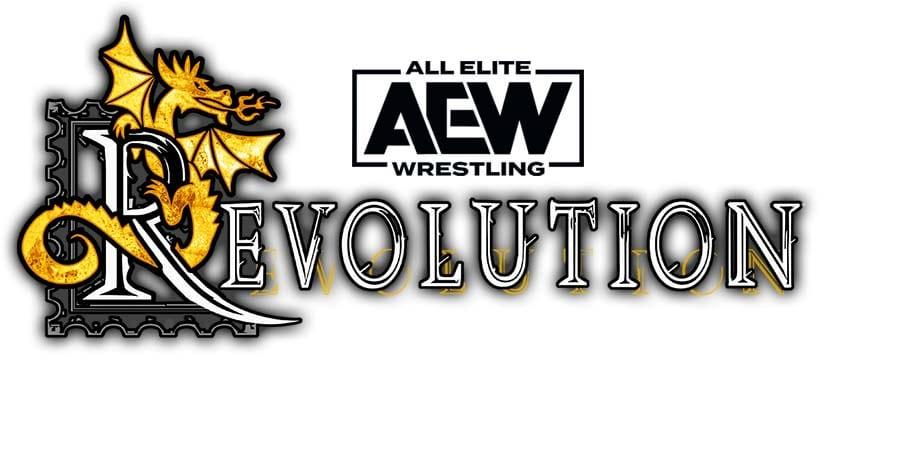 AEW Revolution PPV Logo
