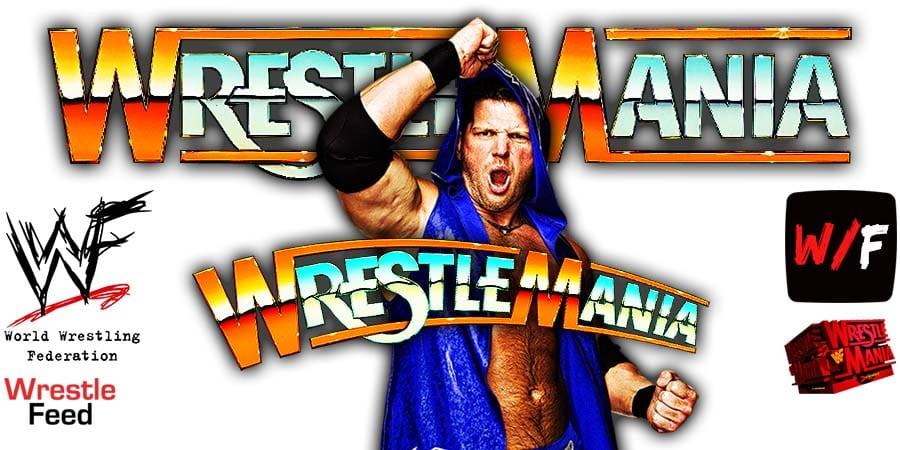 AJ Styles WrestleMania 37 WrestleFeed App