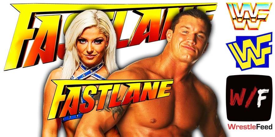 Alexa Bliss Defeats Randy Orton At Fastlane 2021 WrestleFeed App