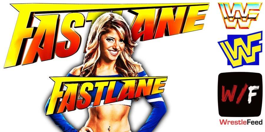 Alexa Bliss Fastlane 2021 WrestleFeed App