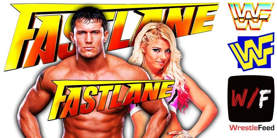 Alexa Bliss Pins Randy Orton At WWE Fastlane 2021 WrestleFeed App