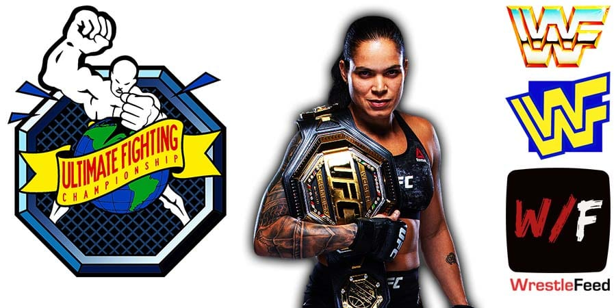Amanda Nunes UFC Champion Article Pic 1 WrestleFeed App