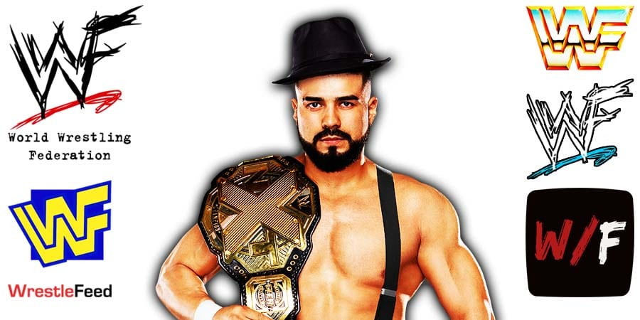 Andrade Article Pic 3 WrestleFeed App