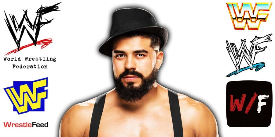 Andrade Cien Almas Article Pic 5 WrestleFeed App