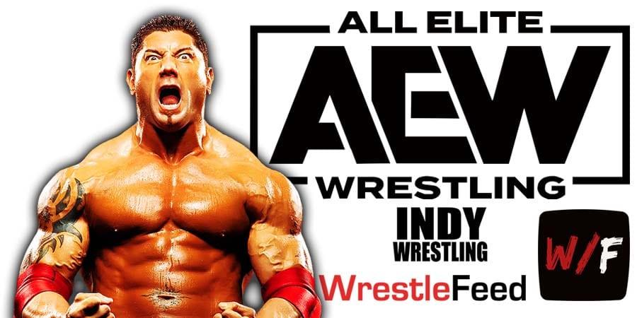 Batista AEW All Elite Wrestling Article Pic 2 WrestleFeed App